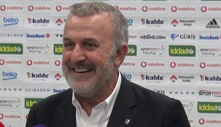 Beşiktaş'tan teknik direktör ve transfer açıklaması