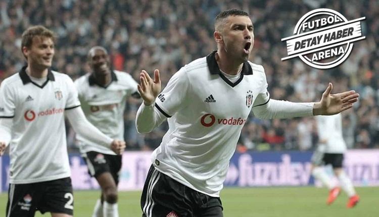 Burak Yılmaz, Beşiktaş ile ofsaytı unuttu! Trabzonspor farkı