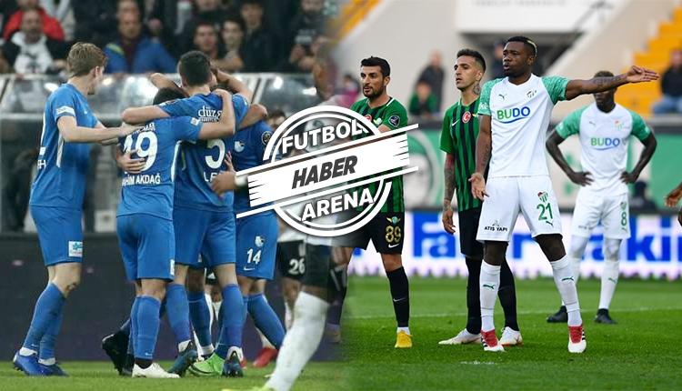 Bursaspor, Erzurumspor ve Akhisarspor küme düştü