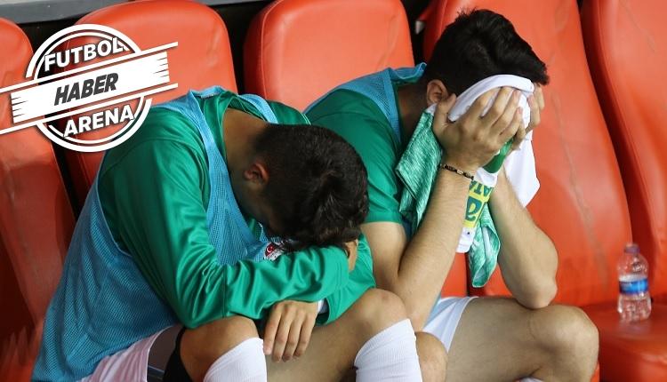 Bursaspor küme düştü ve lig tarihine geçti