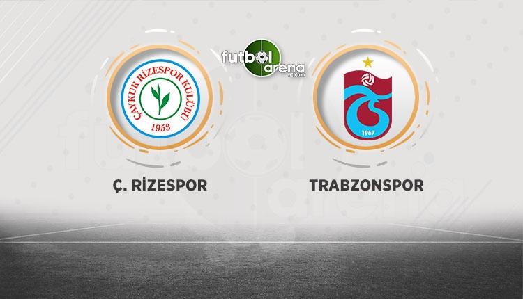 Çaykur Rizespor - Trabzonspor canlı, şifresiz (İZLE)