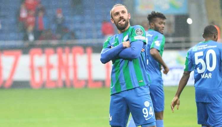 Çaykur Rizespor'da Galatasaray maçı öncesi Aatif ve Vedat Muriqi gelişmesi