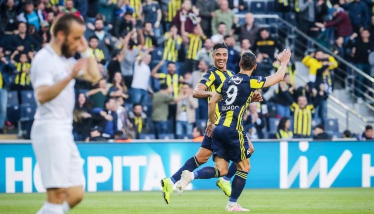 Fenerbahçe 2-1 Akhisarspor maç özeti (İZLE)