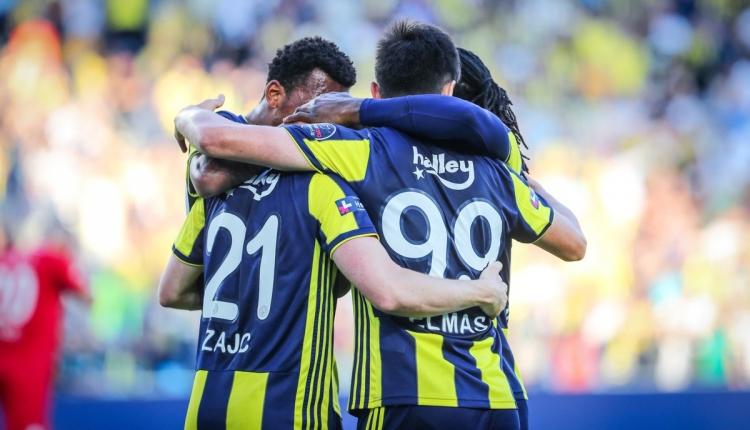 Fenerbahçe 3-1 Antalyaspor maç özeti ve golleri (İZLE)