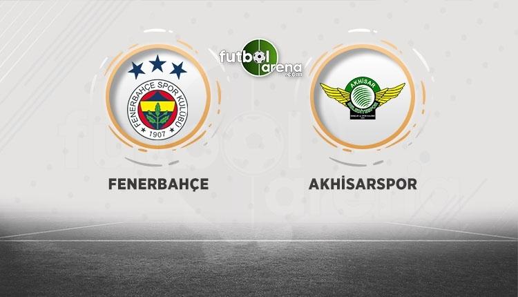 Fenerbahçe - Akhisarspor canlı izle, Fenerbahçe - Akhisarspor şifresiz İZLE (Fenerbahçe - Akhisarspor beIN Sports canlı ve şifresiz İZLE)