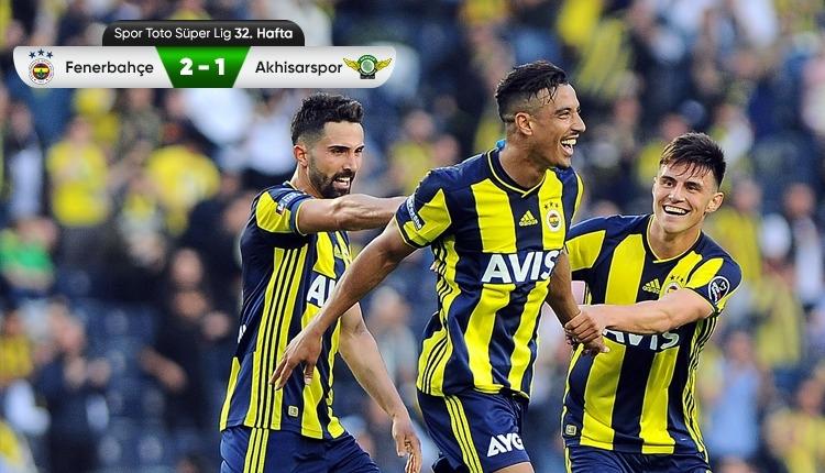 Fenerbahçe - Akhisarspor maç özeti (İZLE)