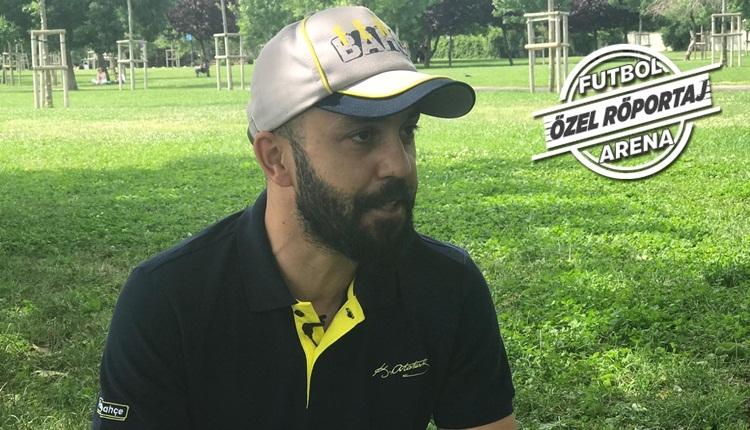 Fenerbahçeli oyuncu Sarp Akkaya, FutbolArena'ya konuştu
