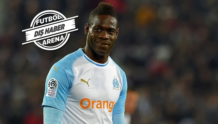 Fenerbahçe'nin gözdesi Balotelli Marsilya'ya veda etti