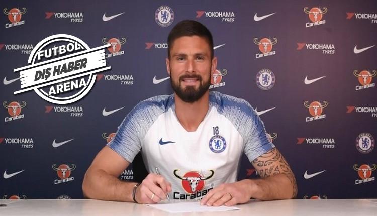 Fenerbahçe'nin gözdesi Giroud imzayı attı