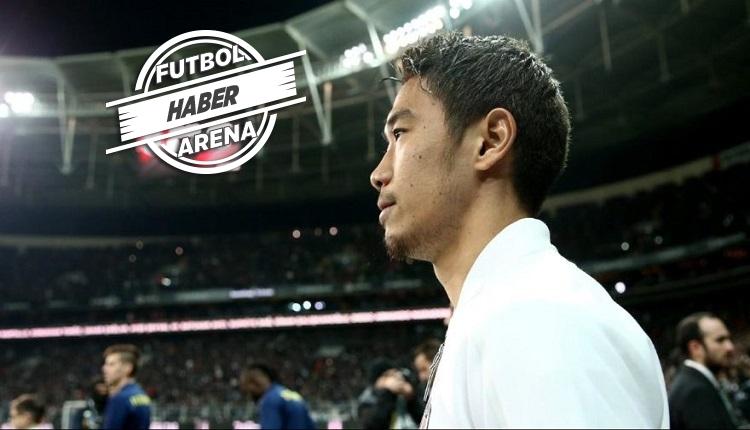 Flaş! Kagawa Beşiktaş taraftarlarına veda etti