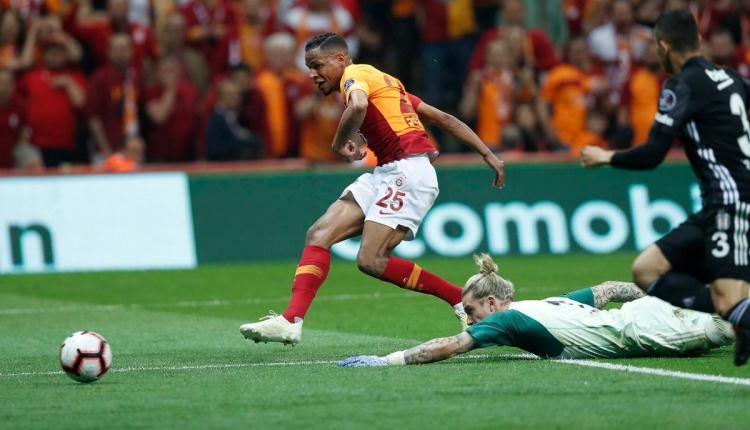 Galatasaray 2-0 Beşiktaş maç özeti ve golleri (İZLE)