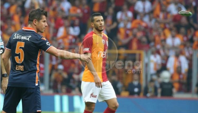 Galatasaray - Başakşehir Belhanda'nın golünden önce el var mı? (Belhanda'nın gol pozisyonu İZLE)