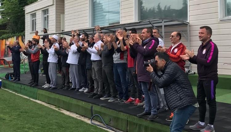 Galatasaray idmanında futbolculara büyük sürpriz