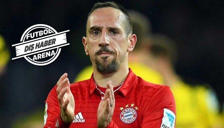 Galatasaray ile anılan Ribery transfer tercihini yaptı