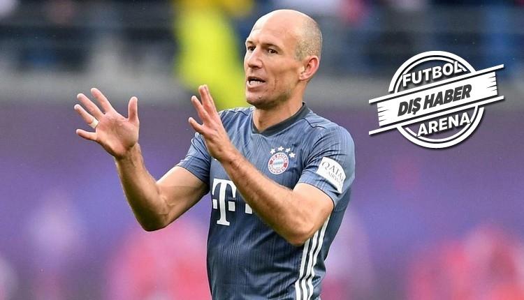 Galatasaray'a yazılan Robben teklifi açıkladı!