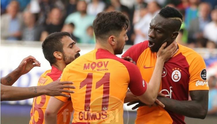 Galatasaray'da Diagne ve Sinan Gümüş'ten penaltı kavgası