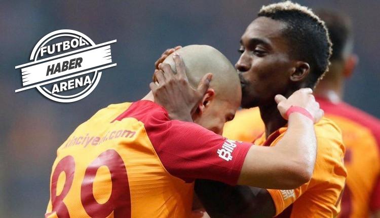 Galatasaray'da Onyekuru ve Feghouli farkı