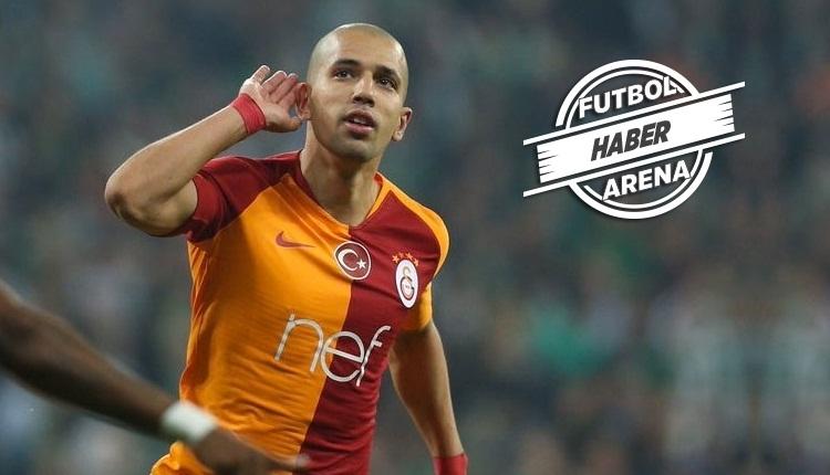 Galatasaray'da transfer dönemi öncesi Feghouli kararı