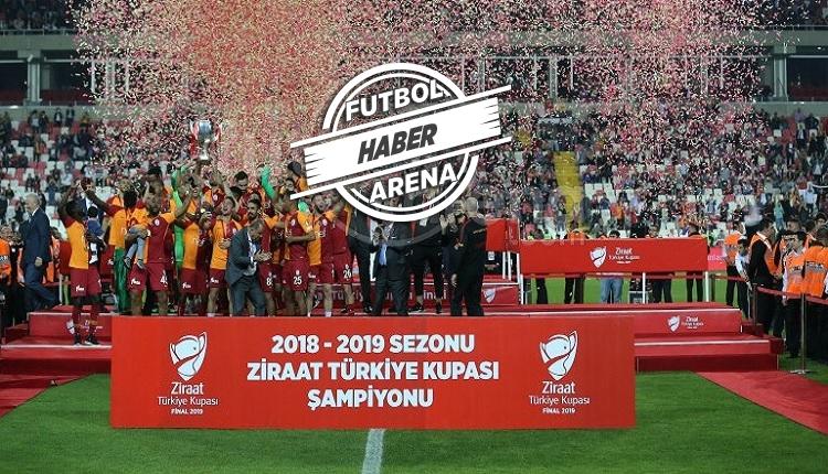Galatasaray'dan kupa şampiyonluğu sonrası ilk sözler