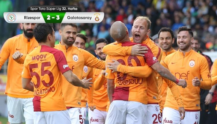 Galatasaray'dan muhteşem geri dönüş!
