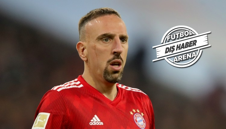 Galatasaray'ın gözdesi Ribery'den transfer itirafı