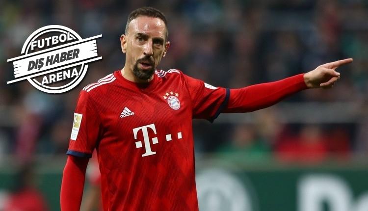 Galatasaray'ın gözdesi Ribery'den transfer mesajı 'Mümkün'