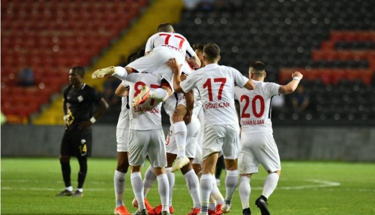 Gazişehir Gaziantep 2-0 Osmanlıspor maç özeti ve golleri izle