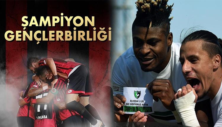 Gençlerbirliği ile Denizlispor, Spor Toto Süper Lig'de yükseldi