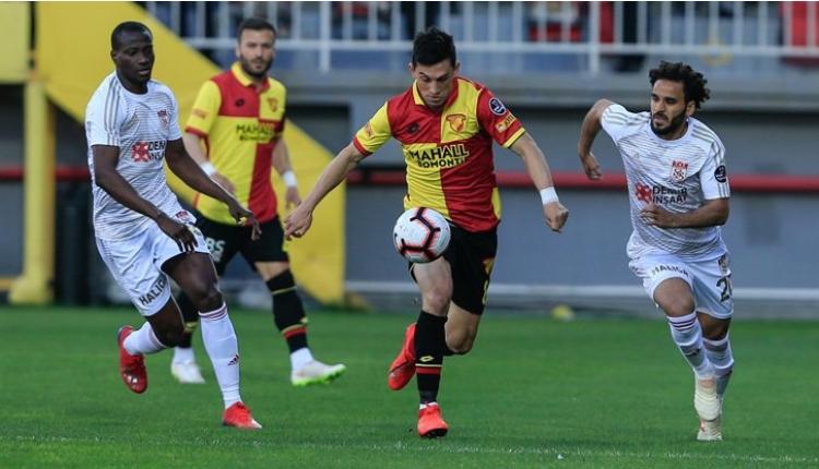 Göztepe 3-3 Demir Grup Sivasspor maç özeti ve golleri (İZLE)