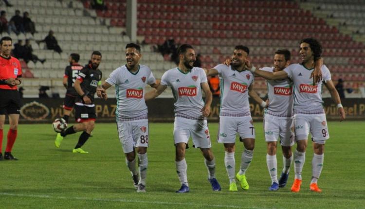 Hatayspor, Play-Off'u garantiledi (Boluspor 1-4 Hatayspor maç özeti ve golleri İZLE)