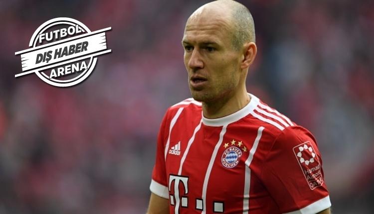 İşte Robben'in yeni takımı! Almanlar duyurdu