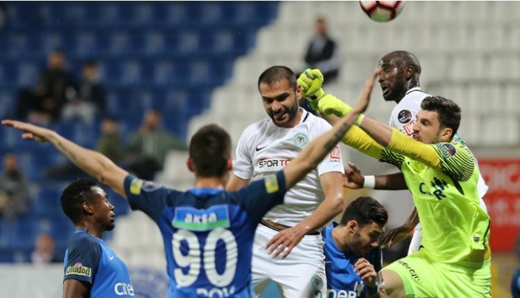 Kasımpaşa 1-1 Atiker Konyaspor maç özeti ve golleri (İZLE)