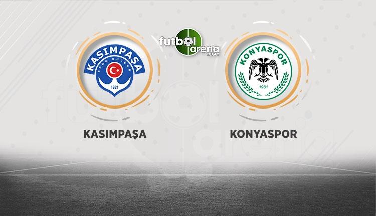 Kasımpaşa - Atiker Konyaspor canlı izle (beIN Sports 1 HD canlı izle)