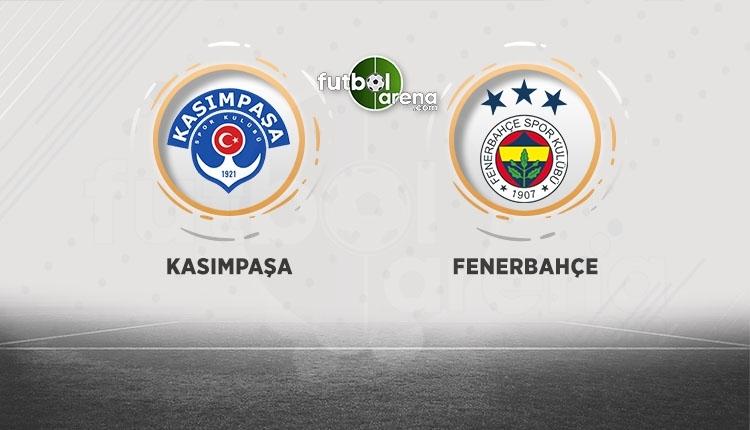 Kasımpaşa - Fenerbahçe canlı izle, Kasımpaşa - Fenerbahçe şifresiz İZLE (Kasımpaşa - Fenerbahçe beIN Sports canlı ve şifresiz İZLE)A
