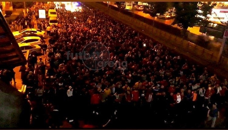 Kayseri'de Galatasaray'ın şampiyonluk kutlamasına engel