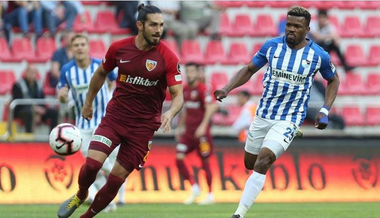 Kayserispor 0-2 BB Erzurumspor maç özeti ve golleri (İZLE)