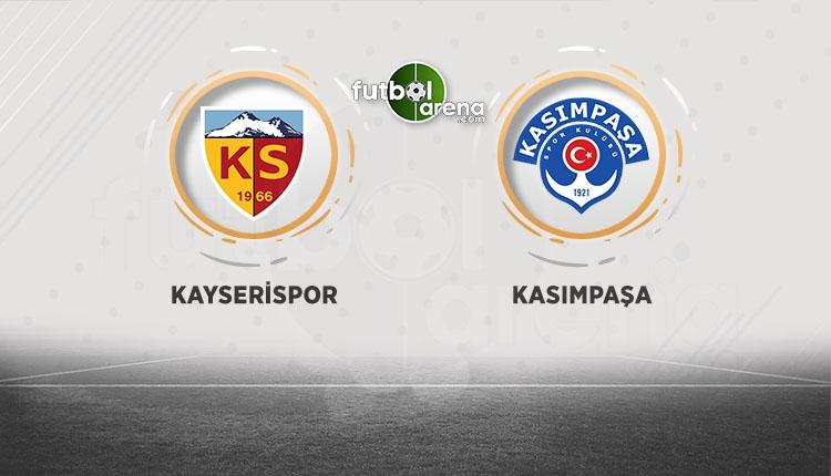 Kayserispor Kasımpaşa canlı ve şifresiz izle (Kayserispor Kasımpaşa beIN Sports İZLE)