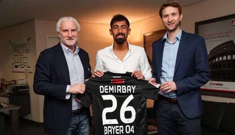 Kerem Demirbay transferi resmen açıklandı! Galatasaray ve Beşiktaş ile anılıyordu