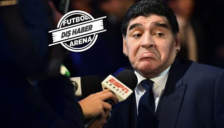 Maradona'ya şok! Havaalanında tutukladılar