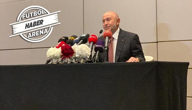 Nihat Özdemir, TFF başkanlığı için adaylığını ve planlarını açıkladı
