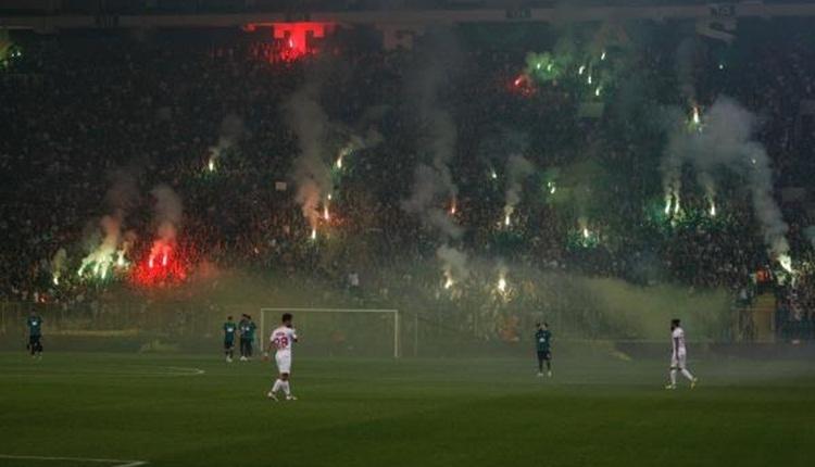 Sakaryaspor - Fatih Karagümrük final maçında muhteşem atmosfer (İZLE)