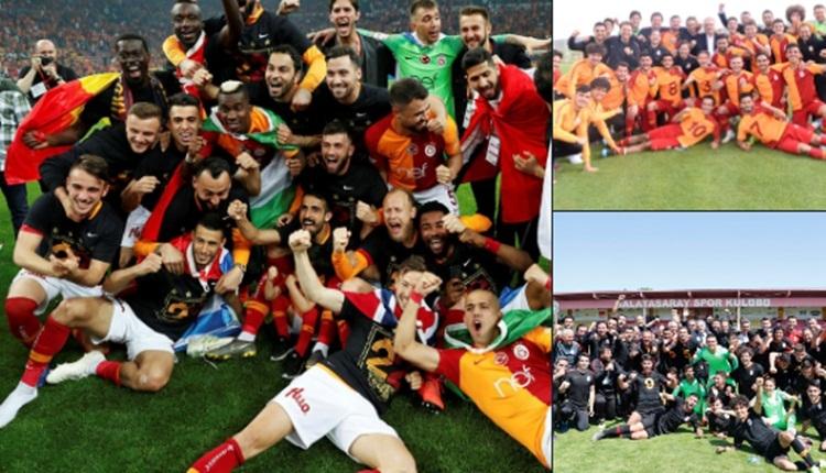 Şampiyon Galatasaray, altyapı liglerini domine etti