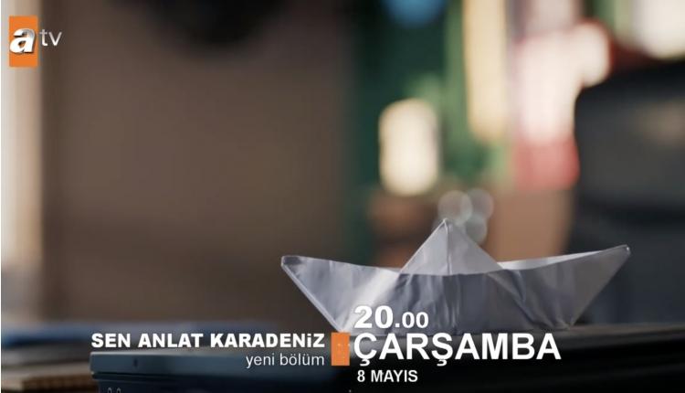 Sen Anlat Karadeniz yeni bölüm izle (ATV Sen Anlat Karadeniz 8 Mayıs)