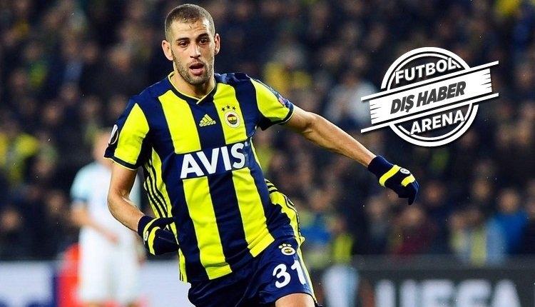 Slimani transferde kararını verdi! Olympiakos'a yanıt