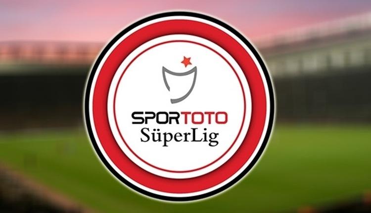Süper Lig'de 34. hafta maçlarının fikstürü açıklandı