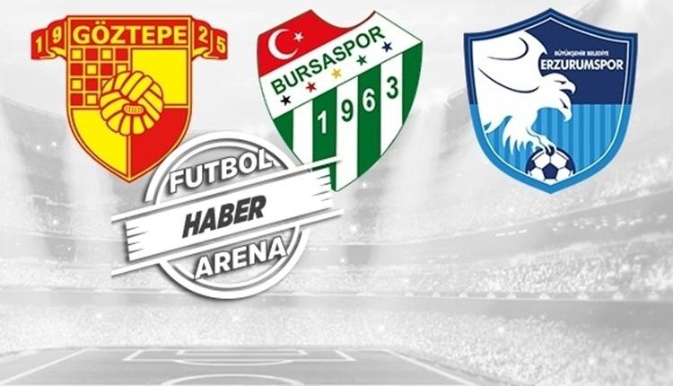 Süper Lig'de kümede kalma ihtimalleri (Süper Lig küme düşme hattı Göztepe, Bursaspor, Erzurumspor)