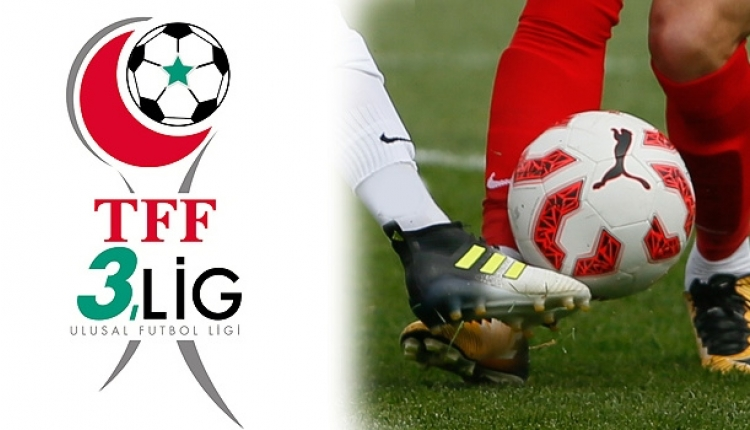 TFF 3. Lig'de final eşleşmeleri belli oldu