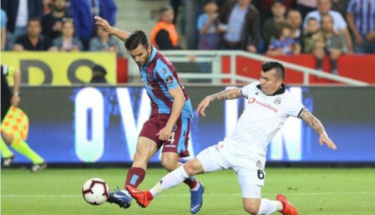 Trabzonspor 2-1 Beşiktaş maç özeti ve golleri (İZLE)