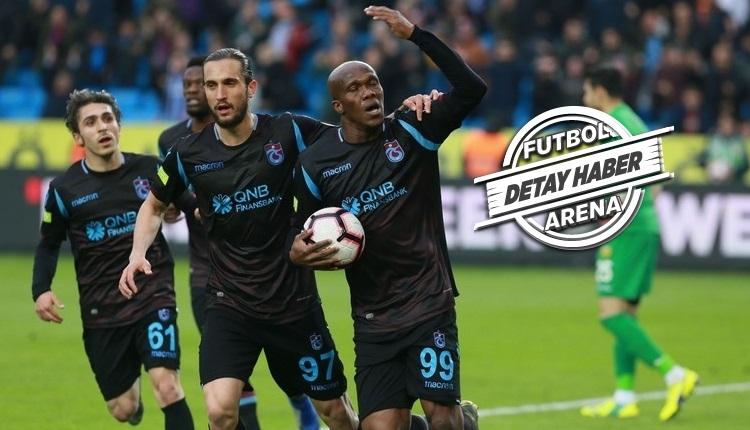 Trabzonspor'da sezona Rodallega ve Nwakaeme damgası