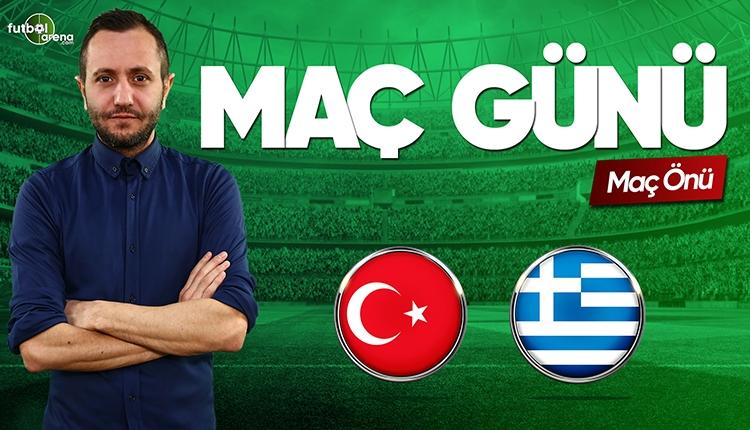 Türkiye - Yunanistan canlı izle | FutbolArena TV CANLI